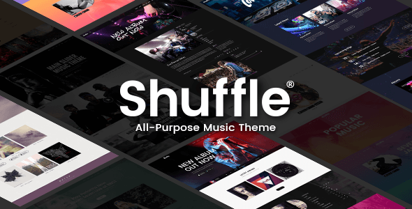 Shuffle v1.4 — All-Purpose Music Theme