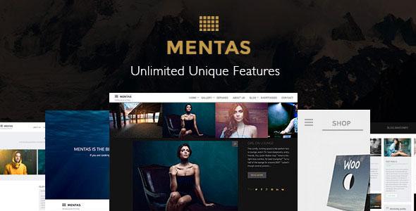 Mentas v2.2.8 — Creative Portfolio for Freelancer & Agency