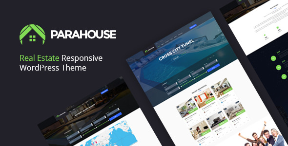 Parahouse v1.3.1 — Modern Real Estate WordPress Theme