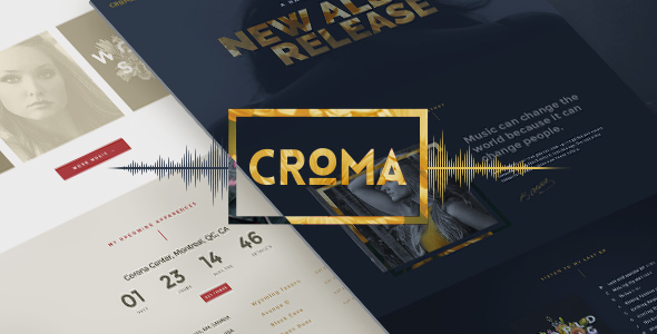 Croma v3.4.5 — Responsive Music WordPress Theme