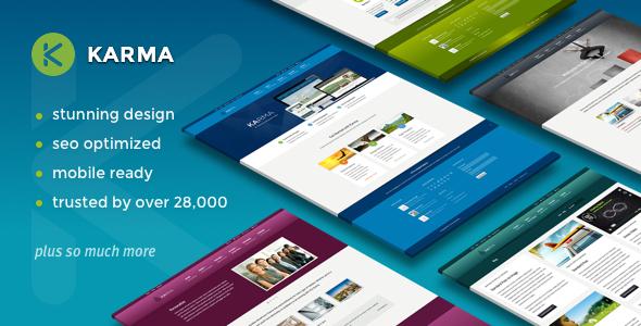 Karma v4.9.6 — Responsive WordPress Theme