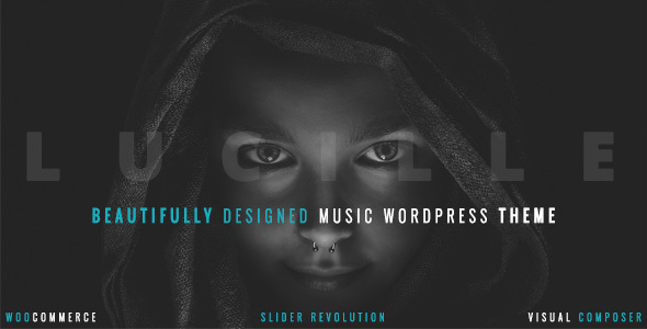 Lucille v2.0.9.1 — Music WordPress Theme