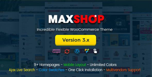 Maxshop v3.3.0 — Multi-Purpose Responsive WooCommerce Theme