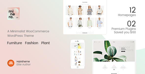 Minera v2.2.1 — Minimalist WooCommerce WordPress Theme