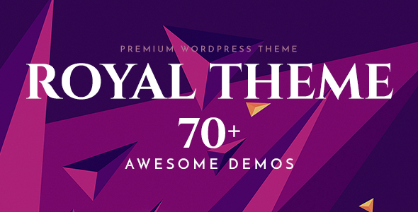 Royal v4.6 — Multi-Purpose WordPress Theme