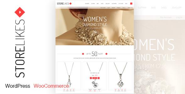Storelikes v1.7 — Fashion RTL Responsive WooCommerce Theme