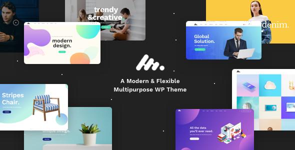 Moody v1.4.3 — A Modern & Flexible Multipurpose Theme