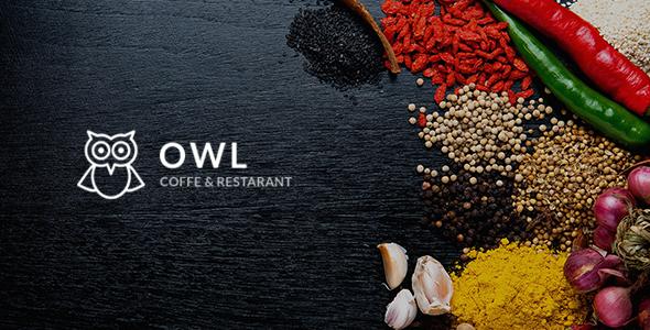 OWL — Cafe & Restaurant Drupal 8.5 Template