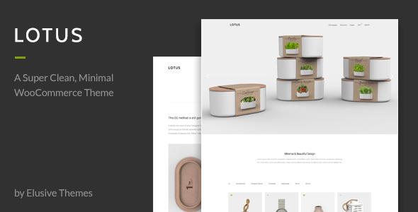 Lotus v2.0 — Modern Minimal WordPress WooCommerce Theme
