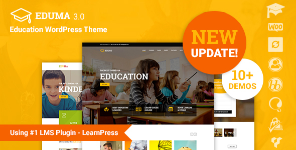 Education WP v3.4.4 — Education WordPress Theme