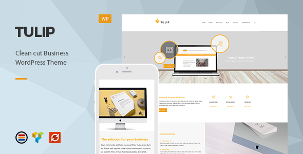 Tulip v1.0.2 — Responsive Business WordPress Theme