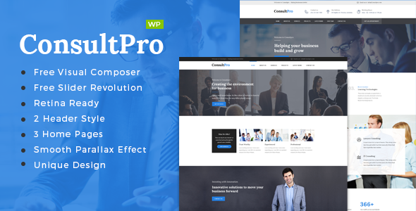 ConsultPro v1.4 — Business, Finance and Consultancy Theme