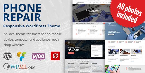 Phone Repair v1.6.8 — Mobile, Cell Phone and Computer Repair WordPress Theme