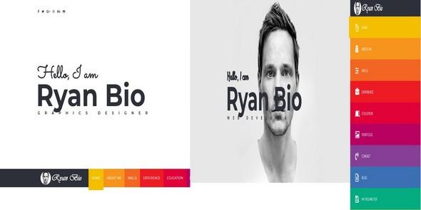 Bio v1.0 — Portfolio And Resume Template