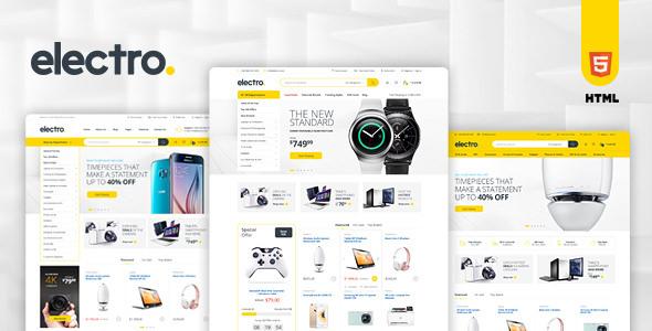 Electro — Electronics eCommerce HTML Template
