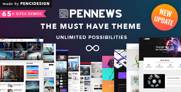 PenNews v5.0 — News/ Magazine/ Business/ Portfolio