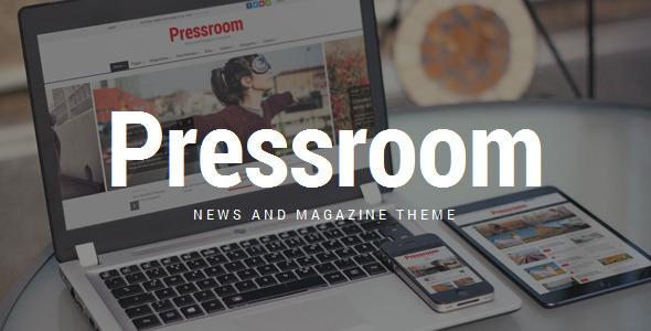 Pressroom v3.7 — News and Magazine WordPress Theme