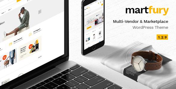 Martfury v1.2.9 — WooCommerce Marketplace WordPress Theme