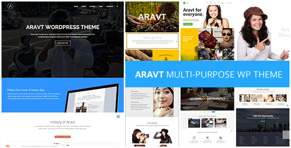 Aravt v1.4 — Creative MultiPurpose Theme