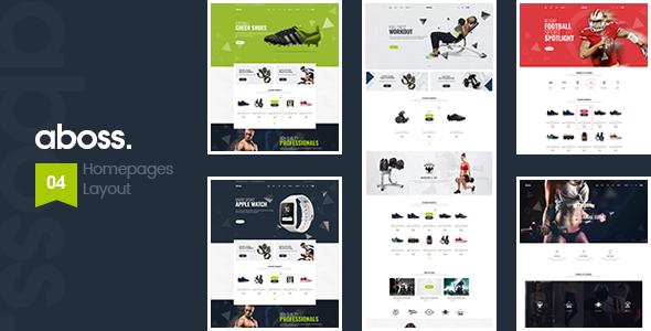 Aboss v1.1 — Responsive Theme for WooCommerce WordPress