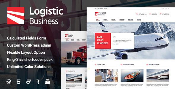Logistic Business v1.0.8 — Transport & Trucking Logistics WordPress Theme