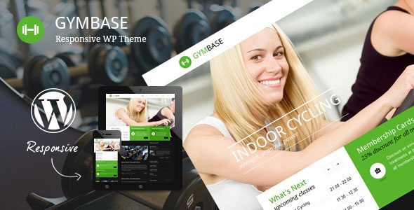 GymBase v11.7 — Responsive Gym Fitness WordPress Theme