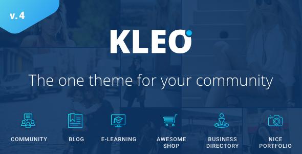 KLEO v4.3.10 – Next level WordPress Theme