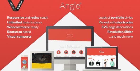 Angle v1.18.0 — Flat Responsive Bootstrap MultiPurpose Theme