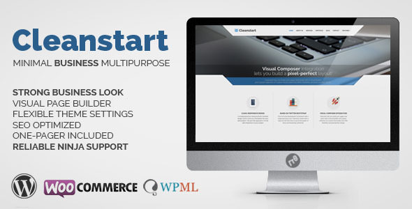 CLEANSTART v1.5.7 — Clean Multipurpose Business Theme