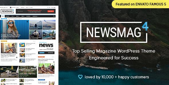 Newsmag v4.5 — News Magazine Newspaper
