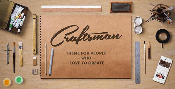 Craftsman v1.6.1 — WordPress Craftsmanship Theme
