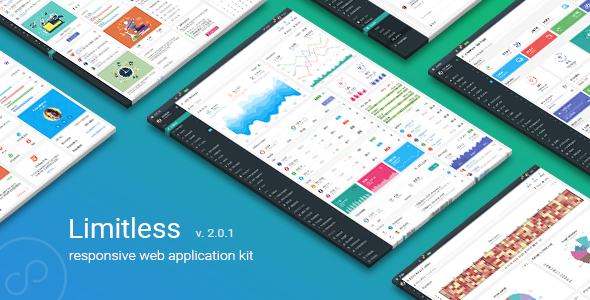 Limitless v2.0.1 — Responsive Web Application Kit