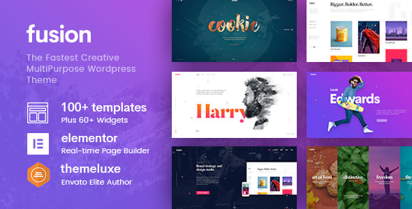 Fusion v1.3.34 — Creative Multi-Purpose WordPress Theme