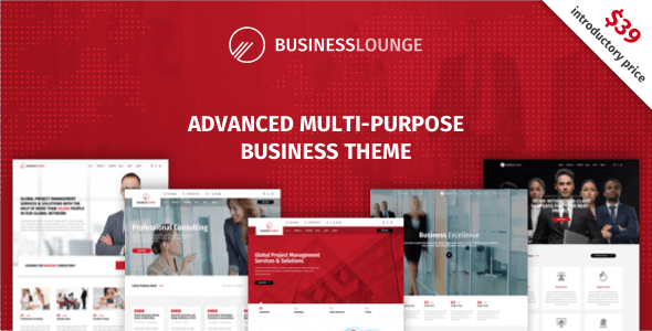 Business Lounge v1.5.1 — Multi-Purpose Business Theme