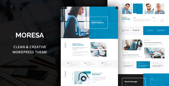 Moresa v1.08 — Business WordPress Theme