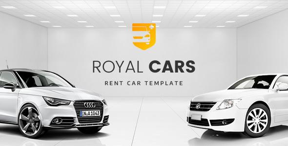 Royal Cars v1.0 — Rent Car PSD Template