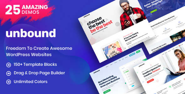 Unbound v1.1.1 — Business Agency Multipurpose Theme