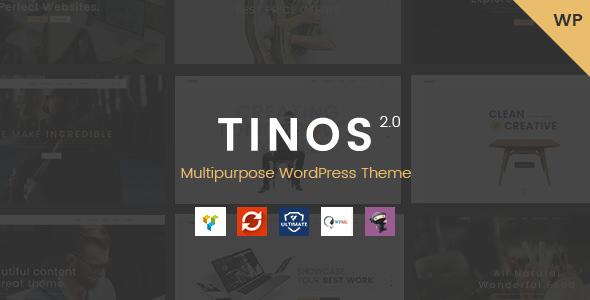 Tinos v2.1 — Multipurpose WordPress Theme