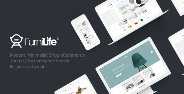 Furnilife — Furniture, Decorations & Supplies Magento Theme