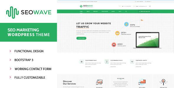 Seo Wave v1.3.1 — WordPress Theme for SEO