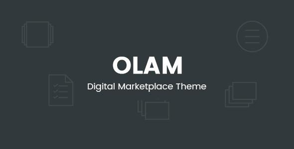 Olam v4.6.1 — WordPress Easy Digital Downloads Theme