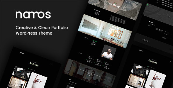 Namos v1.1.0 — Creative One/Multi-Page Portfolio WordPress Theme