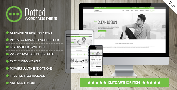 Dotted v1.0.6 — Corporate Multipurpose WordPress Theme