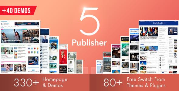 Publisher v6.1.0 — Newspaper Magazine AMP