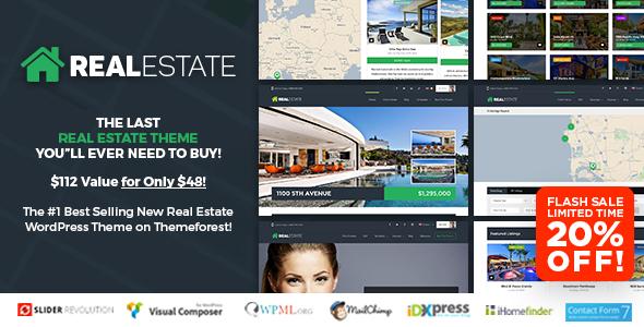 WP Pro Real Estate 7 v2.8.1 — Responsive Real Estate Theme
