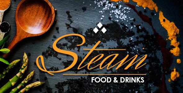 STEAM v1.8.1 — Restaurant, Pub & Cafe WordPress Theme