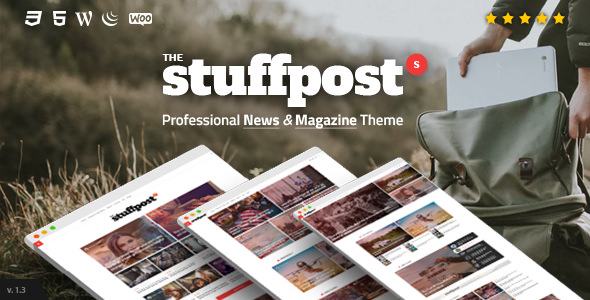 StuffPost v1.2.5 — Professional News & Magazine WordPress Theme