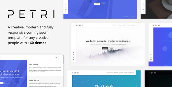 Petri — Creative Coming Soon Template