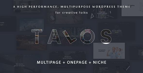 Talos v1.2.4 — Creative Multipurpose WordPress Theme