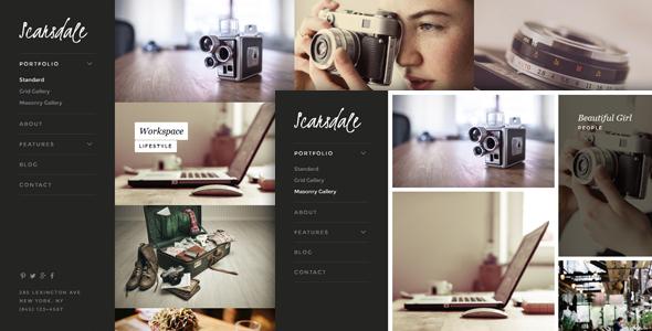 Scarsdale v1.0.1 — Premium Portfolio & Photography Joomla Template
